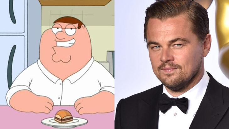 Comparación de la edad de los famosos con diferentes caricaturas