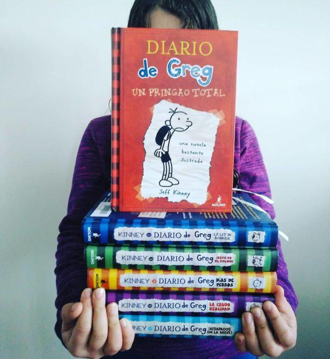 Portada del libro infantil El diario de Greg