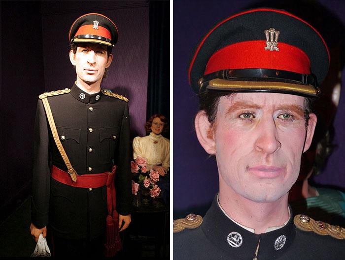 Principe Carlos muñeco de cera