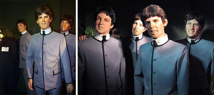 The Beatles muñecos de cera