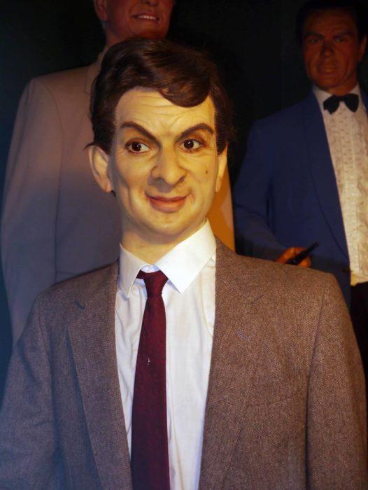 Rowan Atkinson muñeco de cera