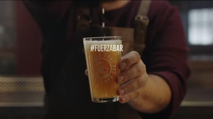 #FUERZABAR como apoyo a bares y restaurantes de España