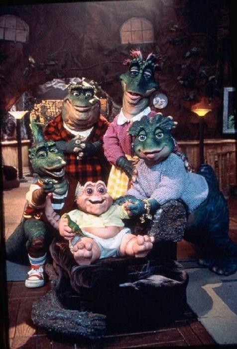 Familia Sinclair del programa Dinosaurios