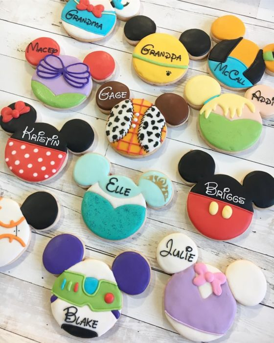 Galletas para festejar el día del niño de Disney