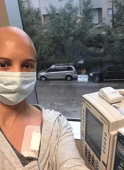 Kelly Conner lucha contra el cáncer