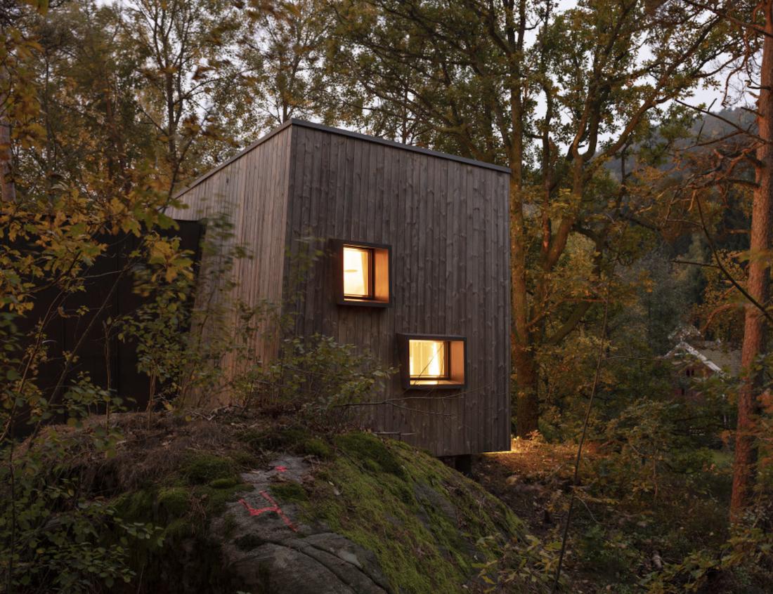 Hospitales en Noruega curan a sus pacientes con cabañas en el bosque