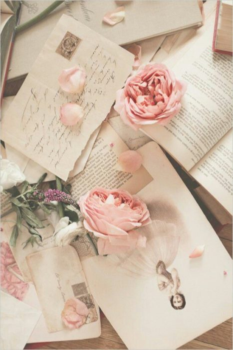 Cartas con rosas