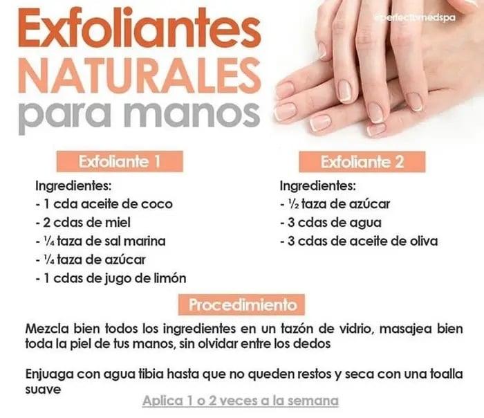 Maneras de exfoliar tus manos en casa