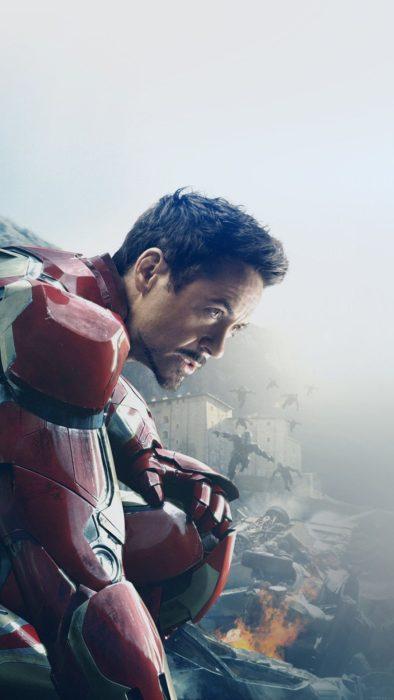 Iron Man de las películas de los vengadores
