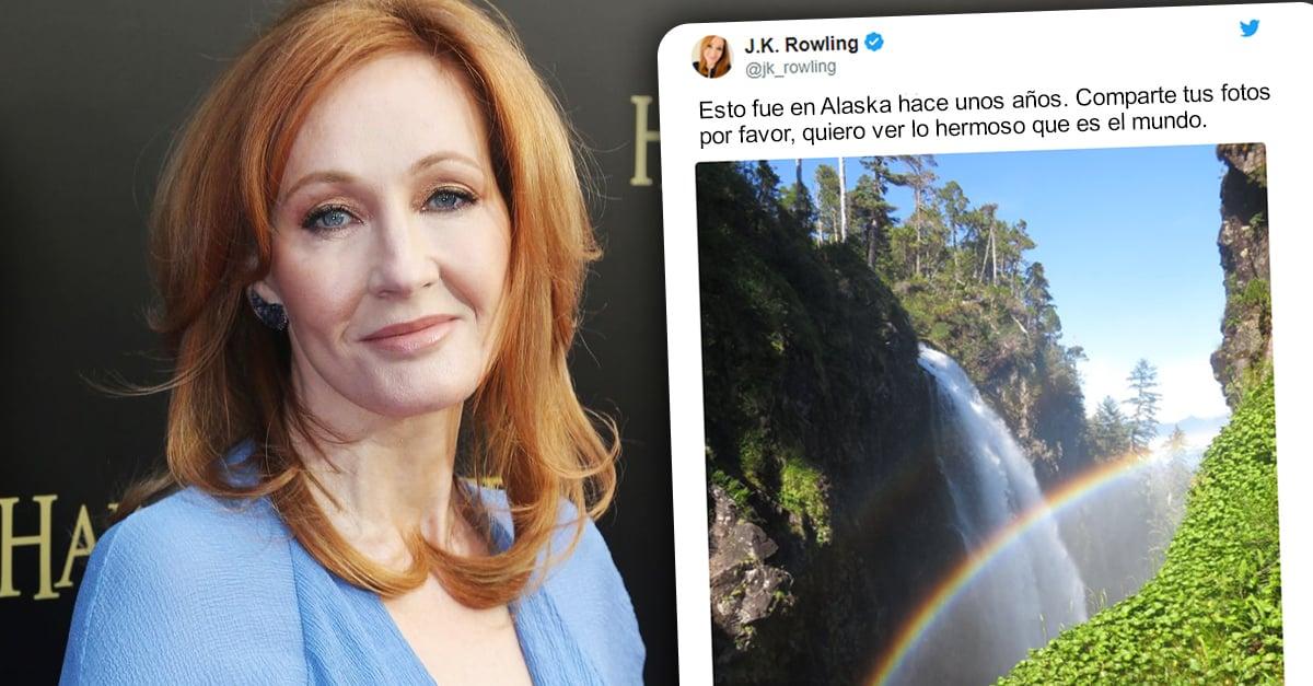 J.K. Rowling inicia hilo de lugares hermosos a los queremos ir después de la cuarentena