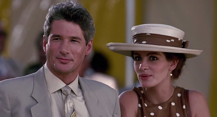 Escena de la película Mujer bonita en la que participan Julia Roberts y Richard Gere