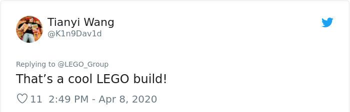 Comentarios sobre la fabricación de caretas en la compañía de LEGO