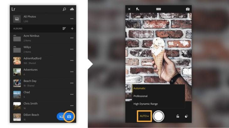 Lightroom CC aplicación para edición de stories en Instagram