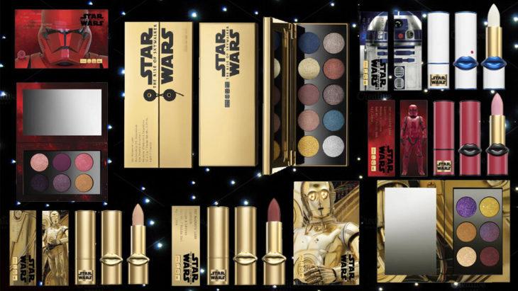 Línea de maquillaje inspirada en Star wars