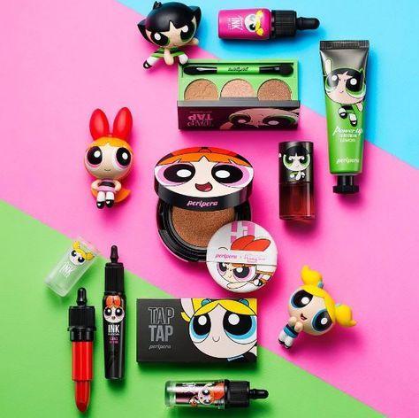 Linea de maquillaje inspirada en las chicas superpoderosas