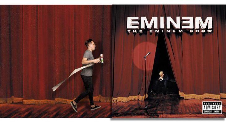 """Portda editada del disco """"The Eminem Show"""" de Eminem"""