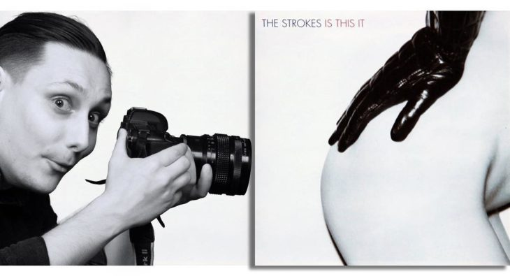 "Portada editada del disco ""Is This It"" de The Strokes"