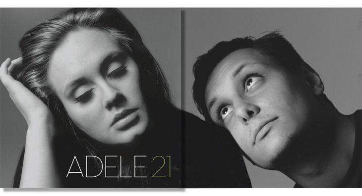 "Portada editada del disco ""Adele 21"" de Adele"