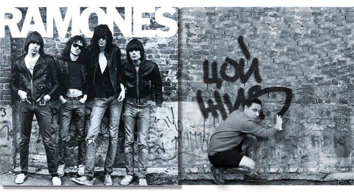 """Portada editada del disco """"Ramones"""" de Ramones"""