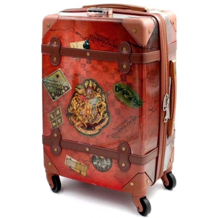 maleta de viaje con diseño de Harry Potter