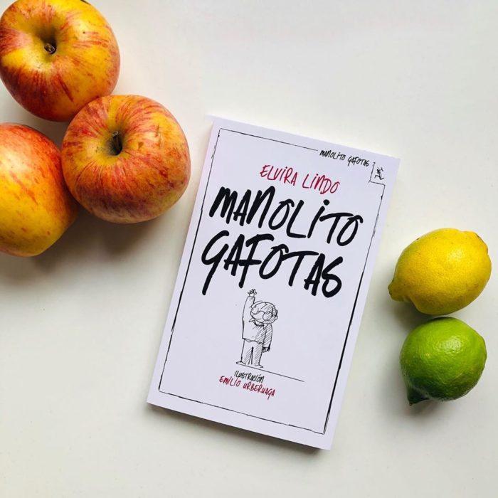 Portada del libro infantil Manolito Gafotas