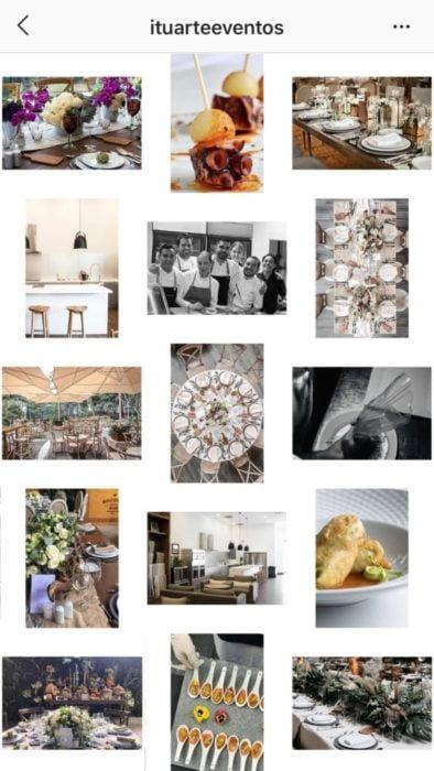 Feed de Instagram de marcos