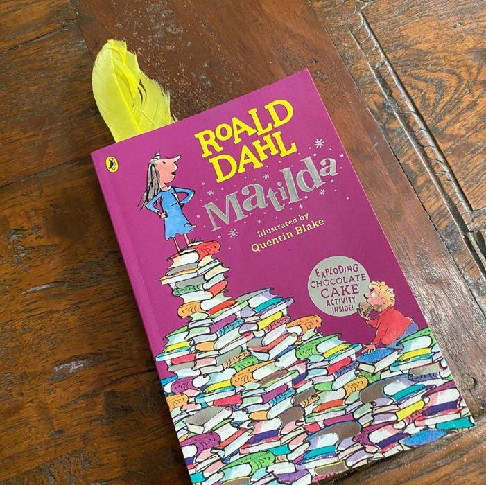 Portada del libro infantil Matilda