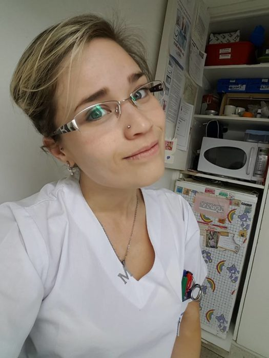 Mayra Berón, efermera