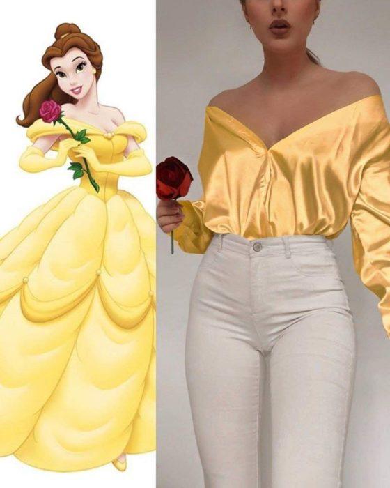 Outfit sexi inspirado en Bella
