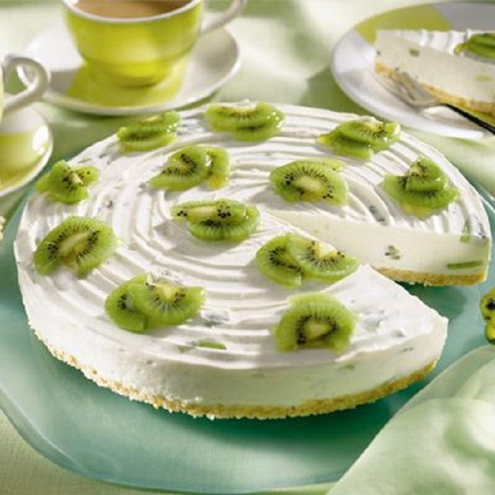 Pastel del día de las madres tarta de kiwi