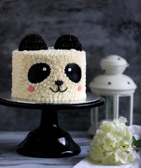Pastel infantil de panda para el Día del Niño
