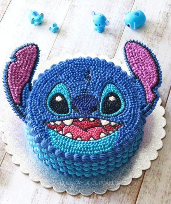 Pastel infantil de Stitch para el Día del Niño