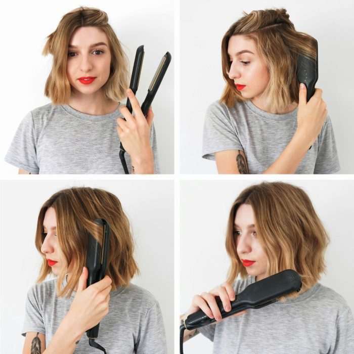 Tutorial de como hacer ondas para el cabello corto