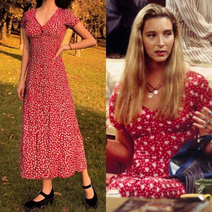 Recreación de outfit del personaje de Phoebe