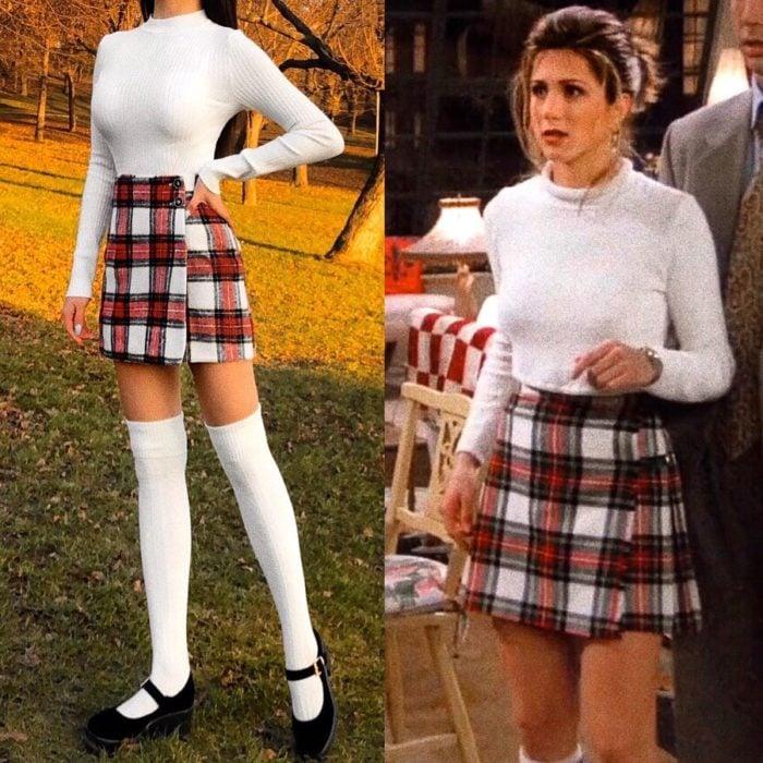 Recreación de outfit del personaje de Rachel