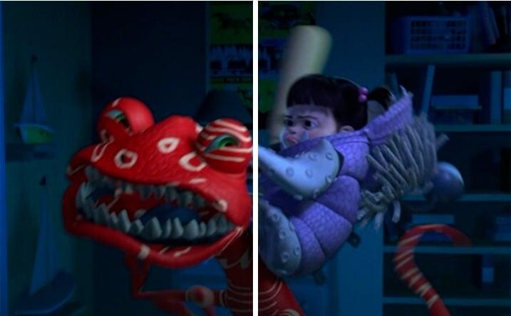 Fondo de pantalla en pareja de Randall y Boo