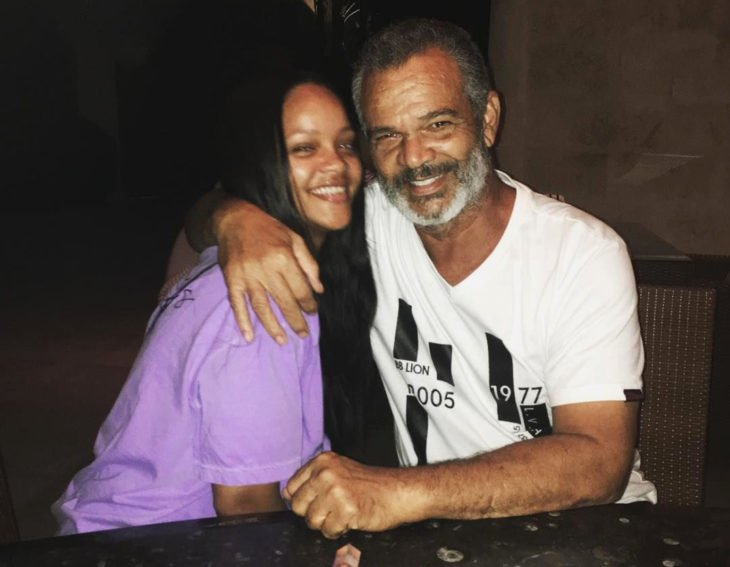 Rihanna y Ronald Fenty, papá e hija