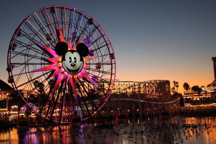 Rueda de la fortuna en Disneyland California