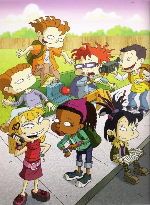 Personajes de Los Rugrats crecidos