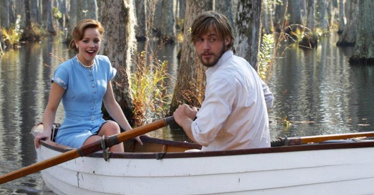 Escena de la película Diario de una pasión en la que participan Ryan Gosling y Rachel McAdams