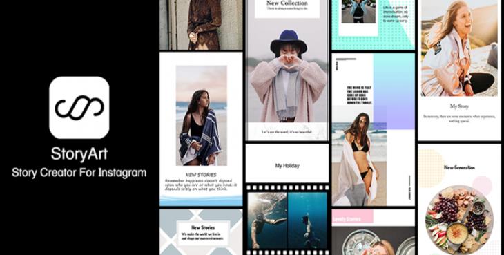 StoryArt aplicación para edición de stories en Instagram