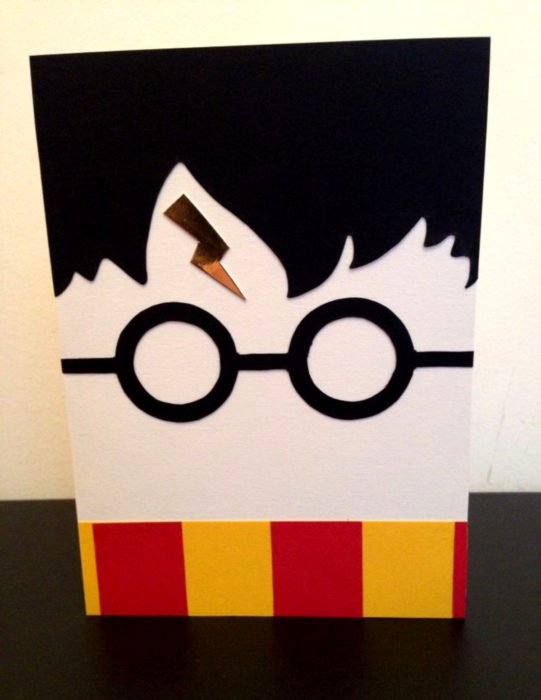 Tarjetas de felicitación infantiles para el Día del Niño; Harry Potter