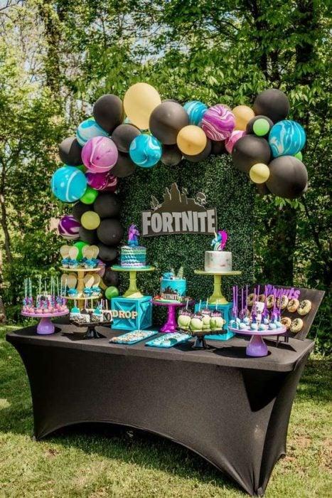 Temática de fiesta infantil Fortnite