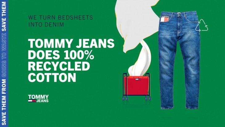 Tommy Jeans tiene línea denim hecha con materiales 100 por ciento reciclados