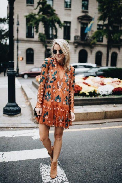 Vestido estilo bohemio