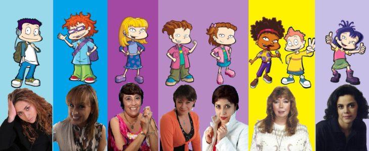 Mujeres que le dieron vida a los personajes de Rugrats