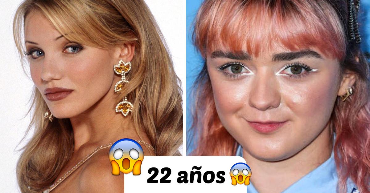 Esta comparación muestra como ha cambiado la belleza de la antigua a la nueva generación