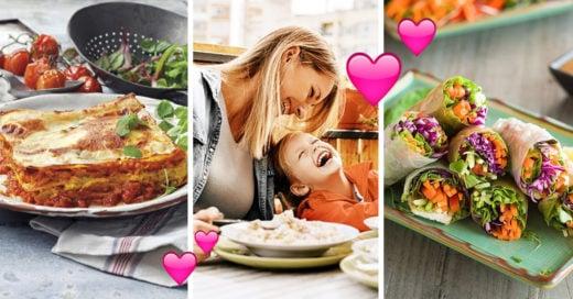 15 Deliciosas cenas para consentir a mamá este Día de las Madres