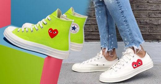 Los nuevos modelos de Converse son lo que necesitas para esta primavera