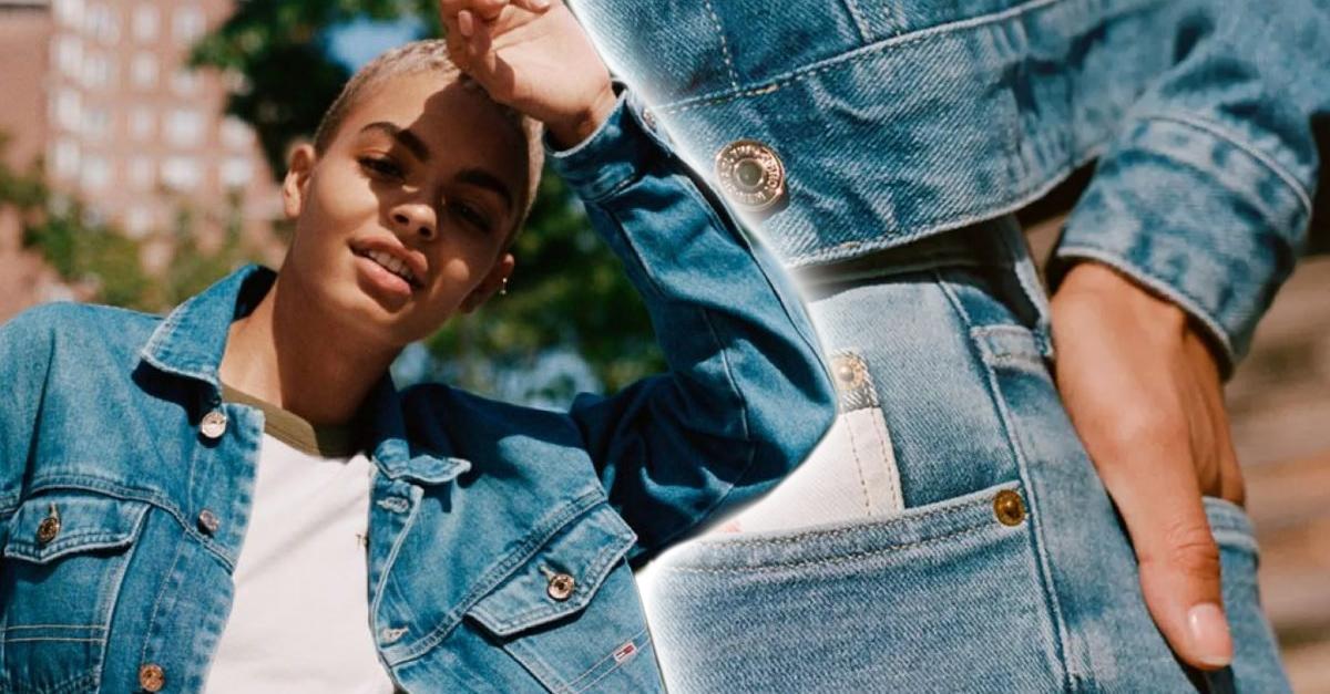 Tommy Hilfiger lanza sus jeans hechos de materiales 100% reciclados